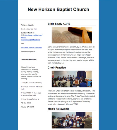 Sign up below to receive our weekly newsletter complete with new